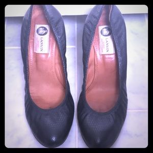 "💯 authentic Lanvin 4"" heels sz 39"